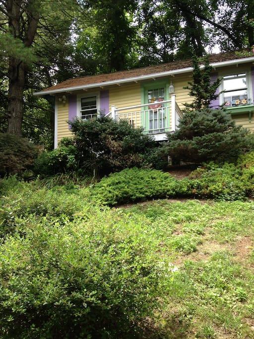 The Owl 39 S Nest Lexington 39 S Only Tiny House 99nt