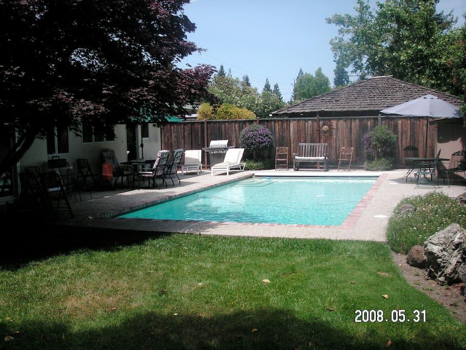 4br 3bath Menlohome Pool Trampoline Houses For Rent In Menlo Park California United States