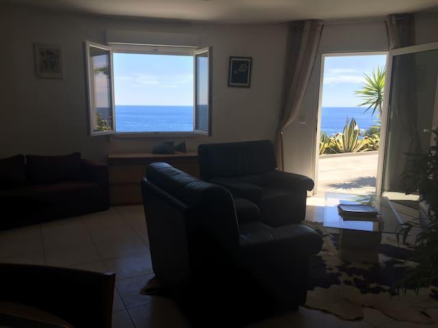 Appartement Miomo / vue sur mer - Bastia - Apartment