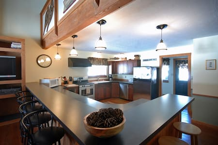 Cabin by Rock Creek with 4 BR - Clinton - Hus