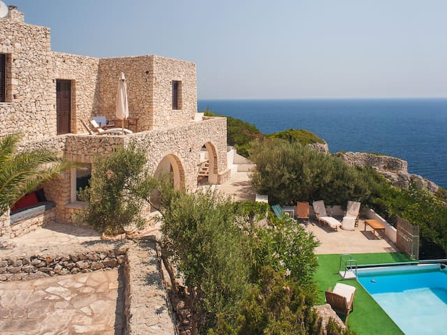 Villa on seaside with pool, Puglia