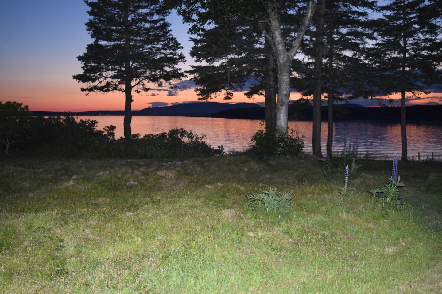 On Little Cranberry Island, Eagle Point offers a sweeping view of Mount Desert Island's mountains as well as to the east and west.