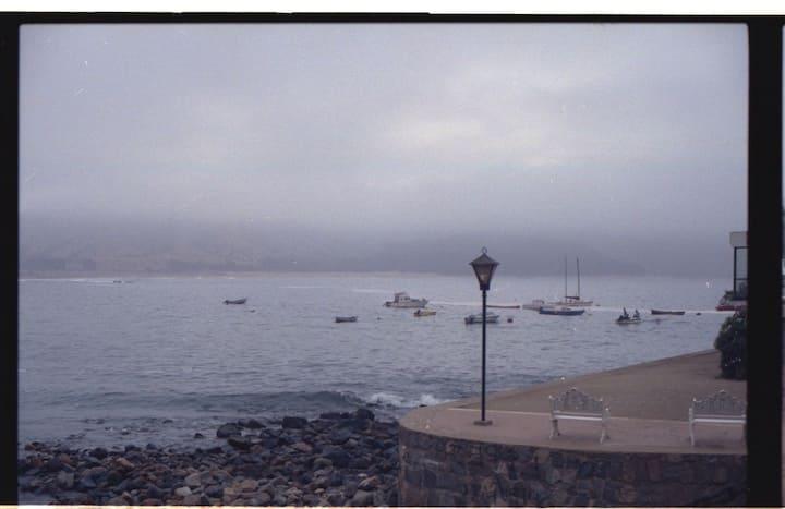 Papudo departamento frente al mar