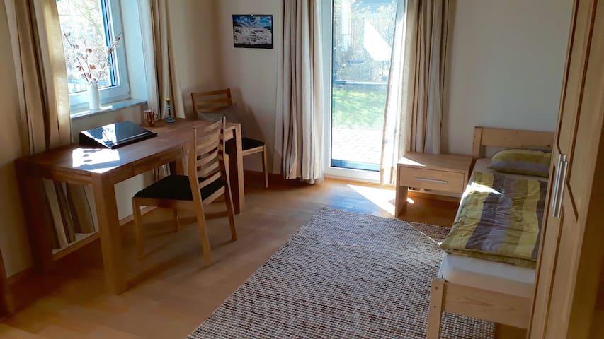 Entspanntes kleines Appartment mit eigenem Zugang