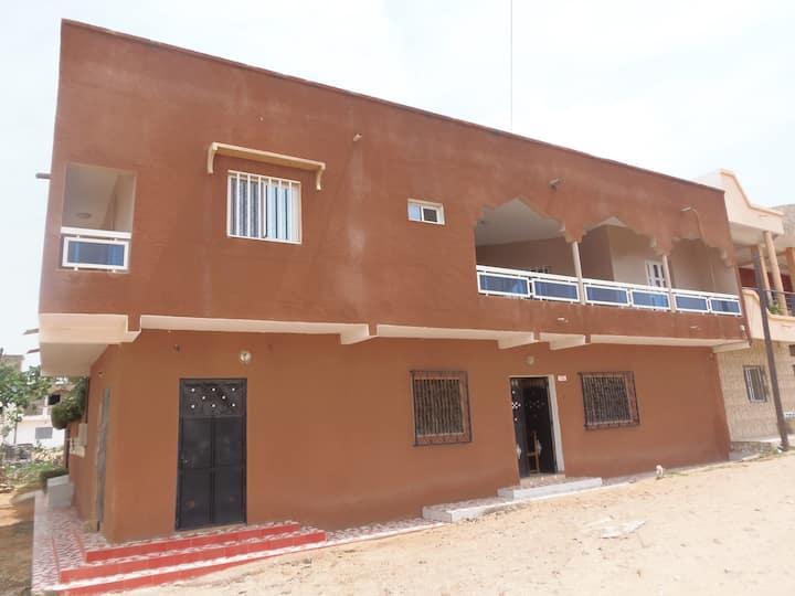4 chambres indépendantes à louer à Mbour