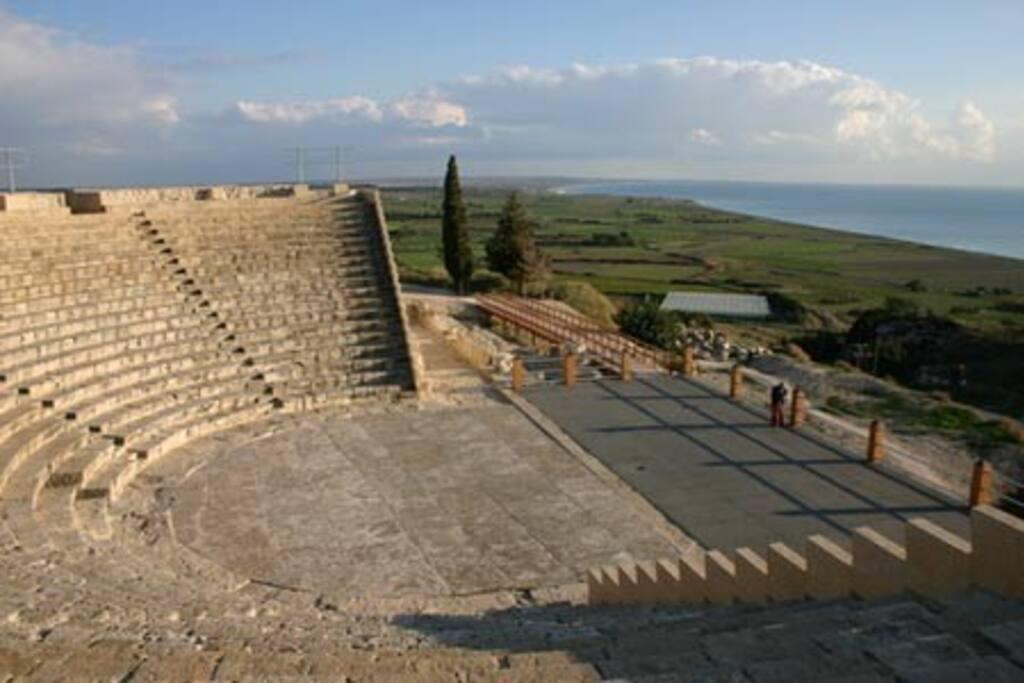 Kourion Ancient Amphitheatre