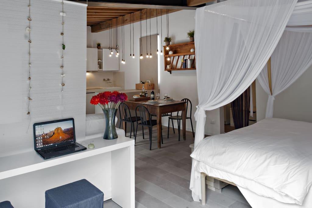 Romantico monolocale posto auto 2 appartamenti in affitto a firenze toscana italia - Posto letto a firenze ...