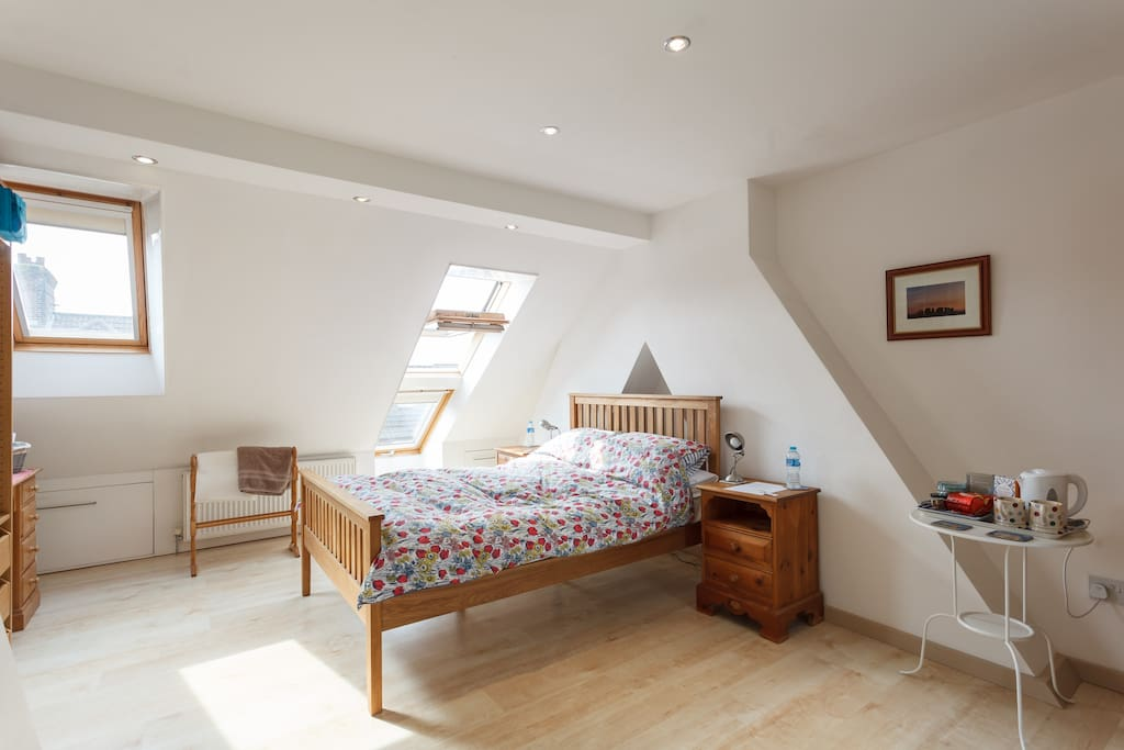 Light and bright double room