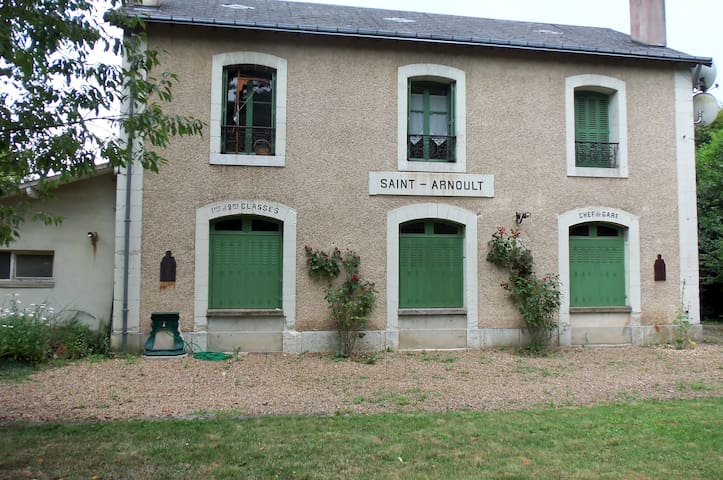 Ancienne Gare du village - Saint-Arnoult - Hus