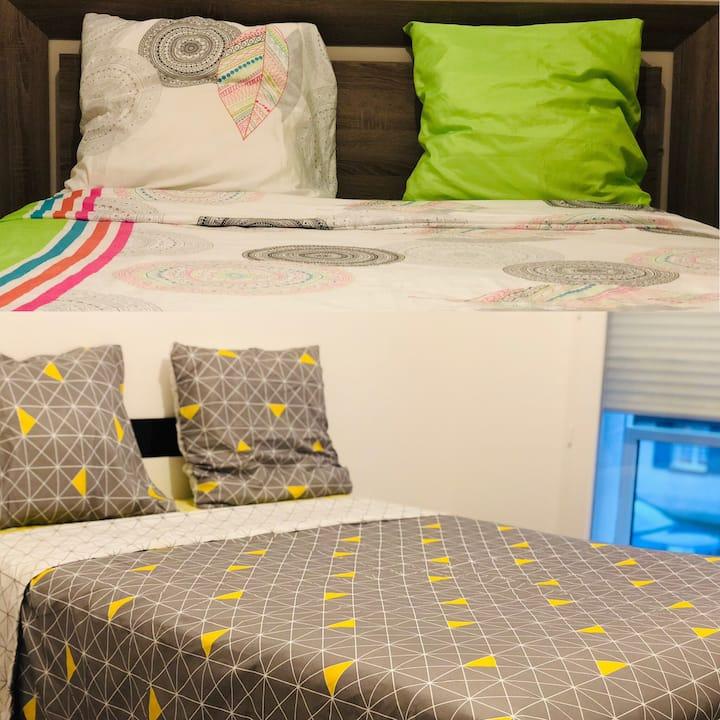 Chambres privées dans une maison neuve à Boves