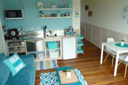Stylish motel units with a kiwi beach house feel. - Leigh