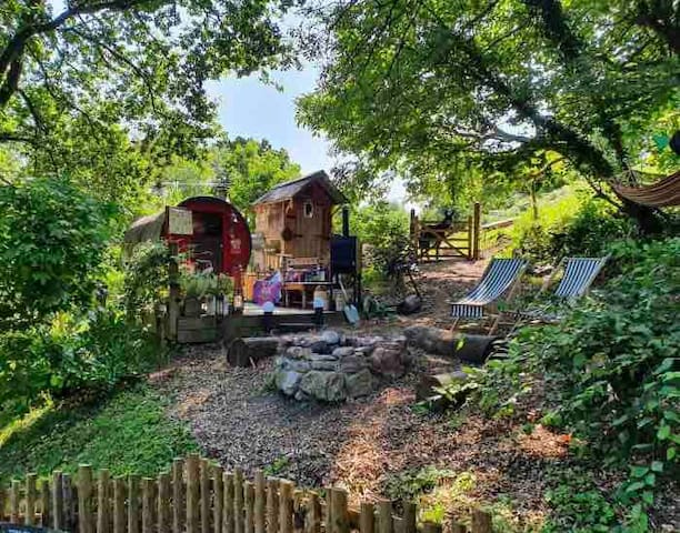 Percy's Gypsy Wagon - the Forest of Dean