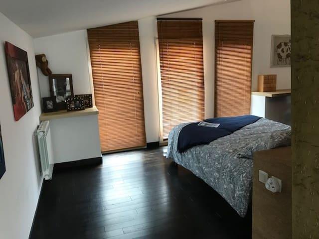 Second warm bedroom