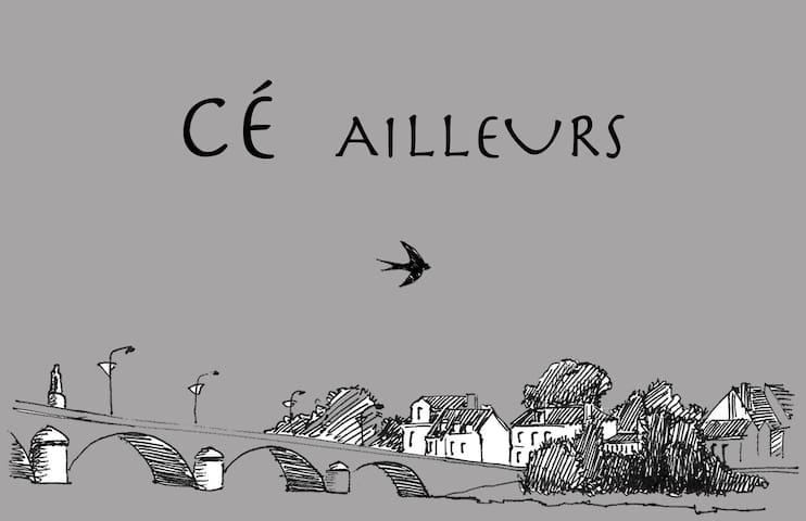 Chambre et salon en bord de Loire - Les Ponts-de-Cé - 一軒家