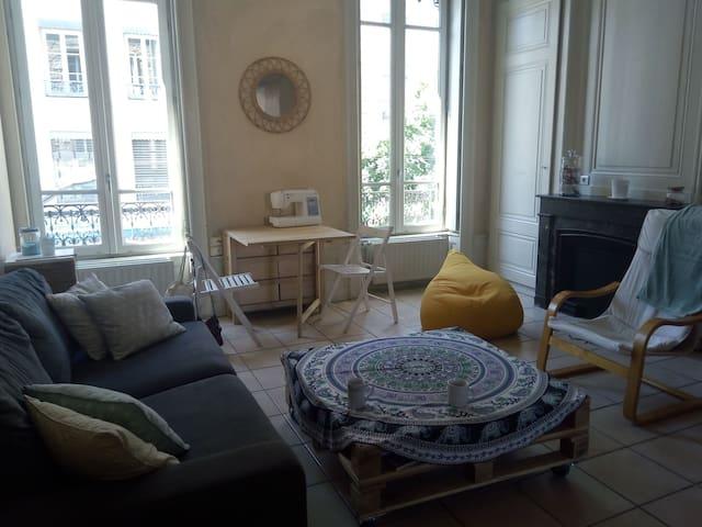 Appartement chaleureux pour 4 à Valmy