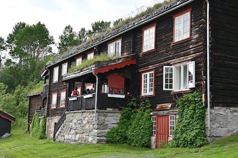 Log cabin in beautiful surroundings