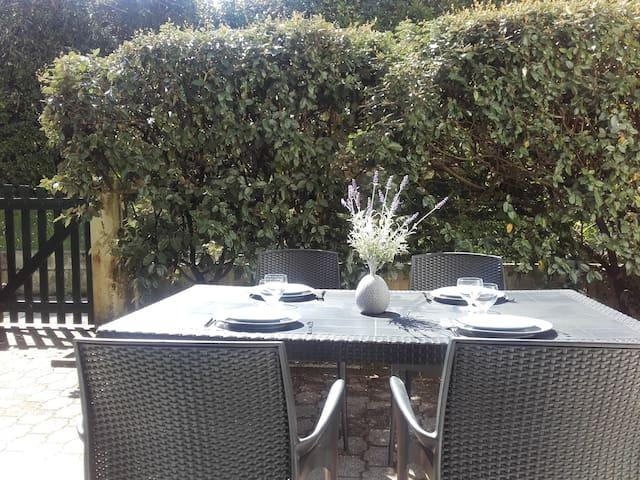 T2 avec jardinet - Plage à 200m - Hendaye - Apartment