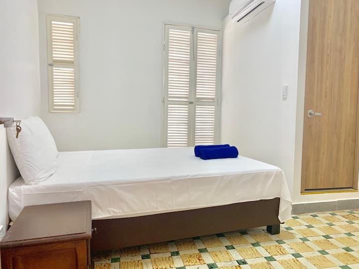Habitacion Doble privada con Balcon