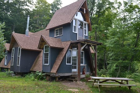 Wilderness White Birch Cabin on Private Lake - Richland - Cabaña