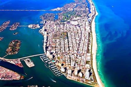 Fancy,Sunny,New Studio South Beach! - Miami Beach