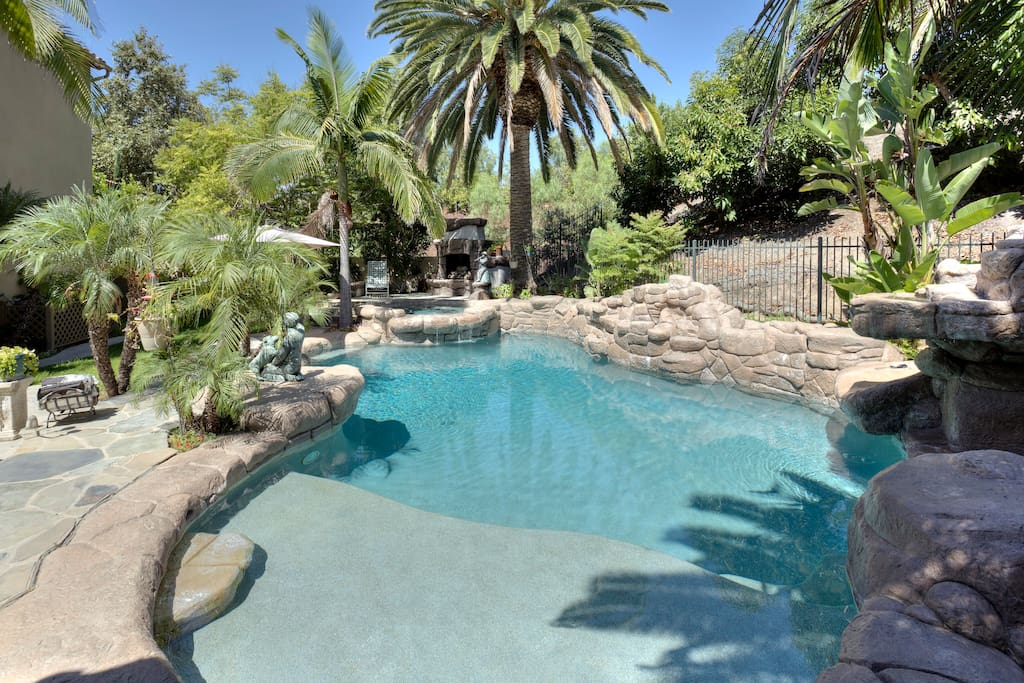 Experience living in an Estate Home  and Museum  Amazing high end exotic backyard