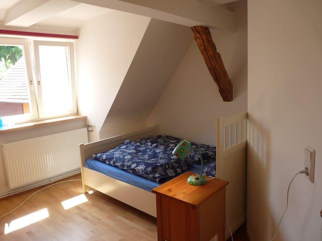 Ferienwohnung in in der Mitte Deutschlands - Gleichen - Apartament