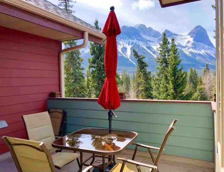 *Ideal for long stay*Luxury/Deck Mountain view
