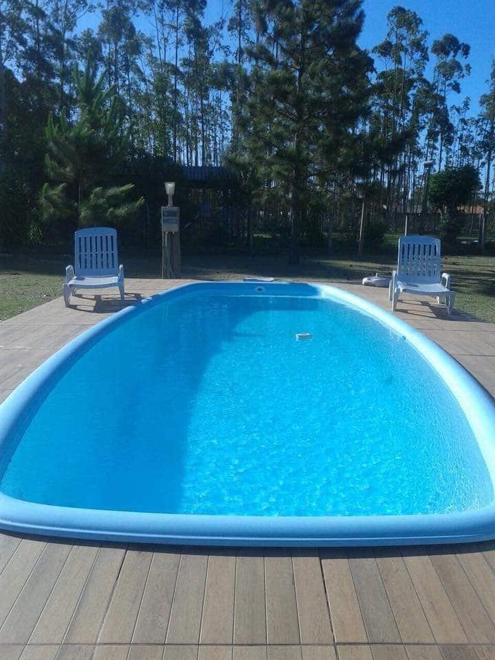 Excelente Chalé com piscina em Torres/RS.
