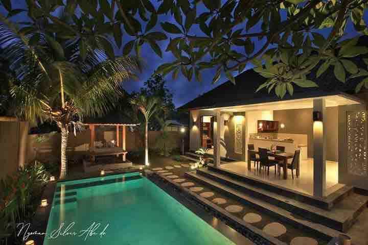 Ubud Tropical Private 2BR Villa w/ private pool