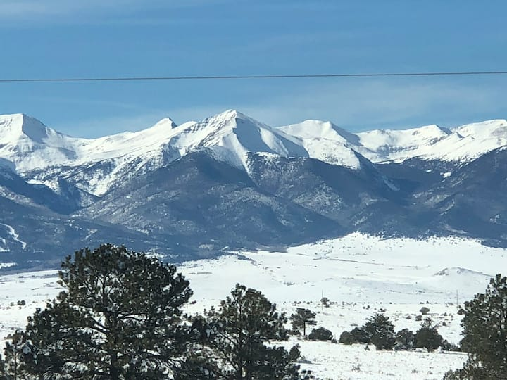 Upstairs two bedroom suite near Westcliffe, CO