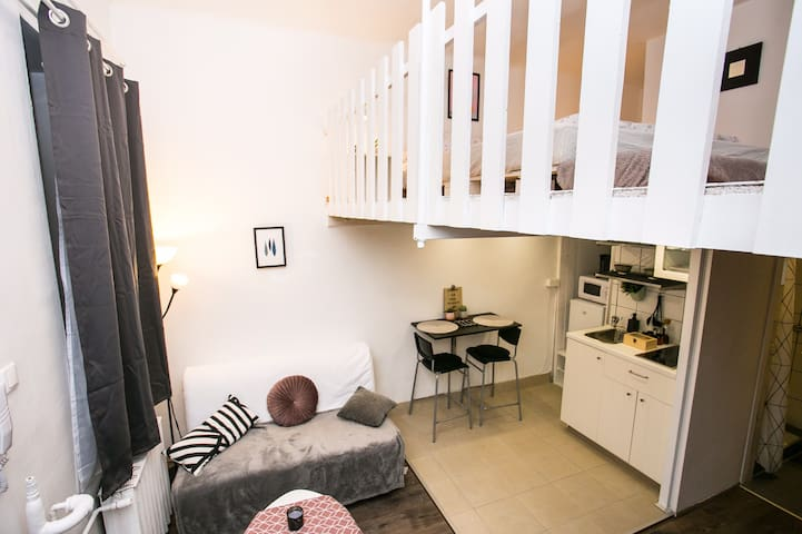 ❤️Cozy loft/Parliament-Danube 10 min walk/top value
