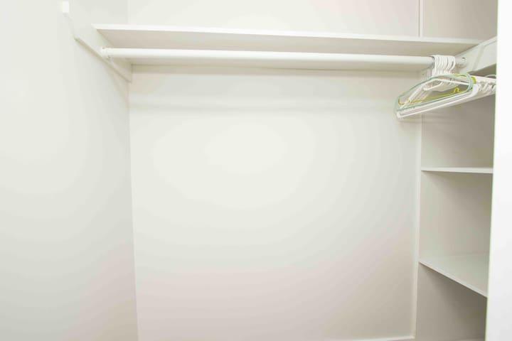 Walk in closet - master bedroom