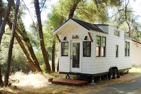 Yosemite/Bass Lake Tiny House with Llamas
