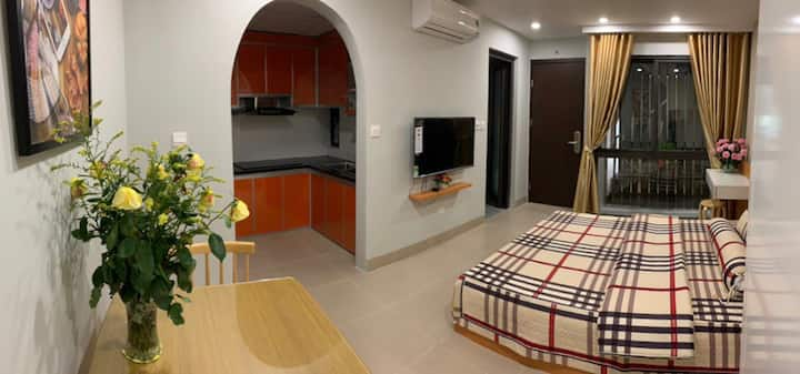Apartment for rent at 118 Trung Kính, Cau Giay