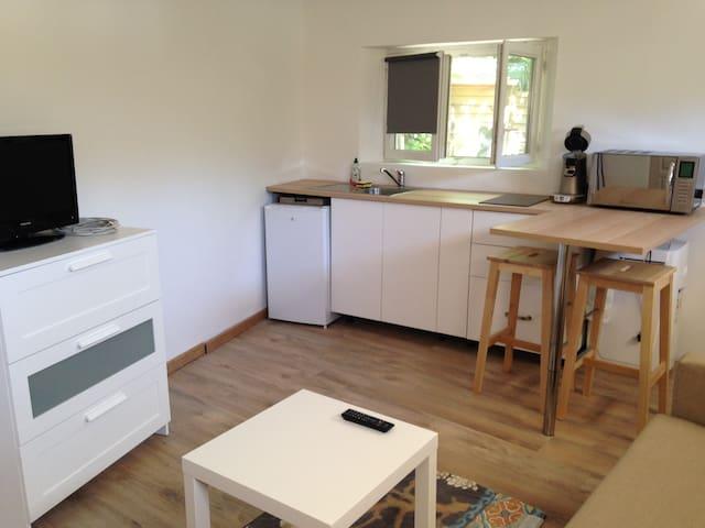 Studio 18m², calme et terrasse - Avignon - Apartamento