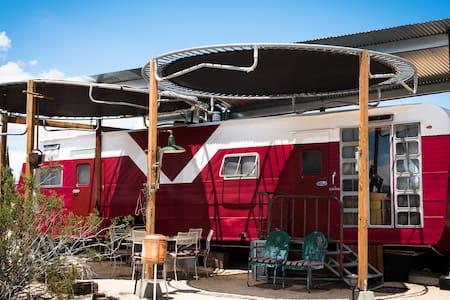 JoshuaTree, CA Buzzards Roost -Red Rocket- - Joshua Tree