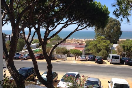 Ocean view from a cozy apartment