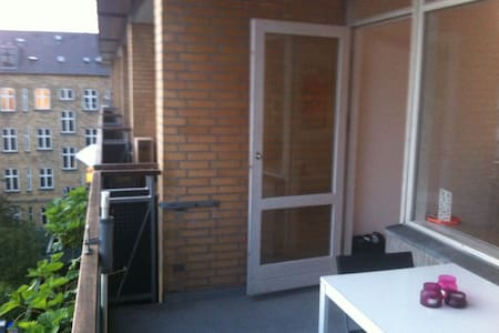 Balcony home - free parking - Frederiksberg - Apartment