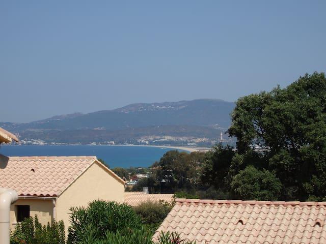 Mini villa 4 pers sur les hauteurs de Porticcio