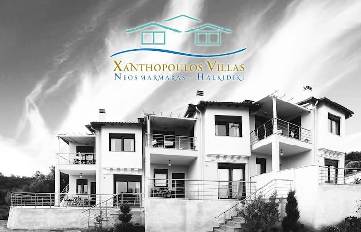 Xanthopoulos Villas 2 - Περιοχή Τριποτάμου - House
