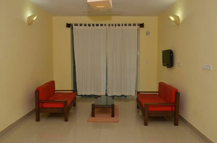2bedroom apartment RubyResidency E201 - South Goa - Apartment