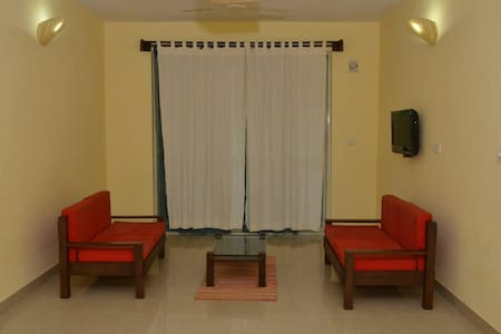 Luxuries 2bedroom apartment RubyResidency - Etelä-Goa