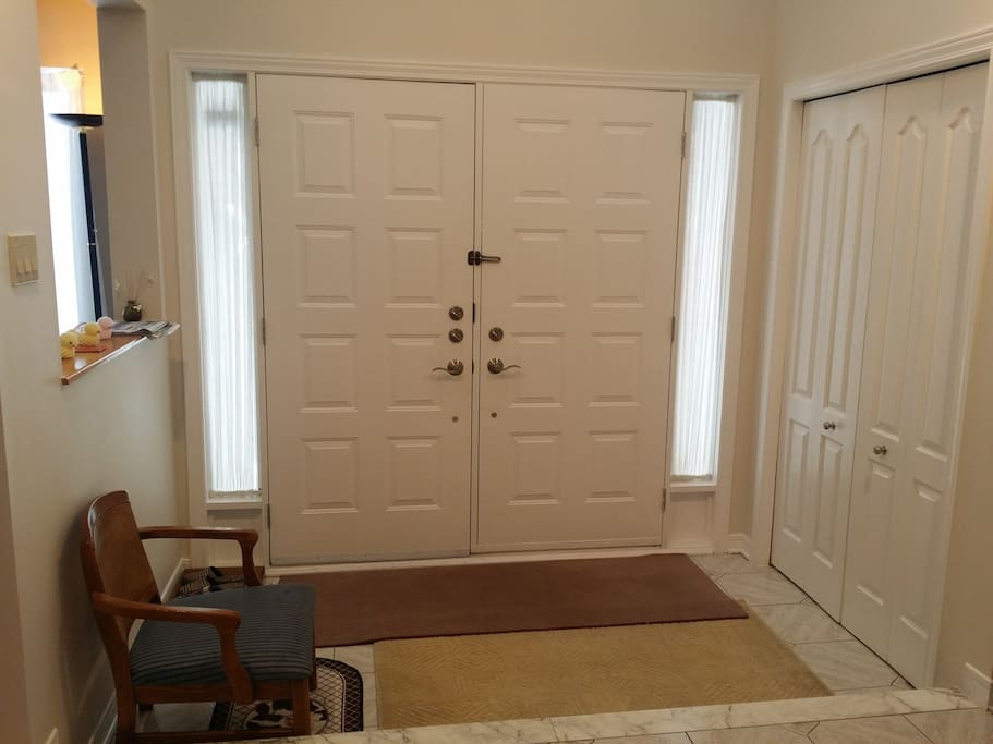 Main Double Door Entrance & Foyer