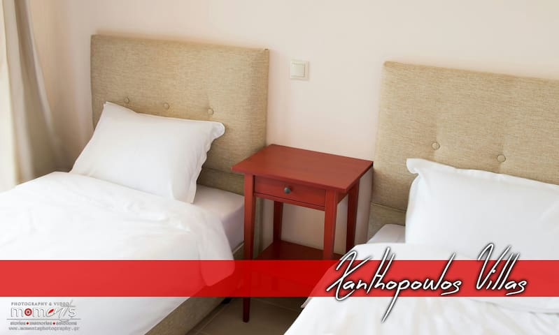 Xanthopoulos Villas 3 - Νέος Μαρμαράς - บ้าน