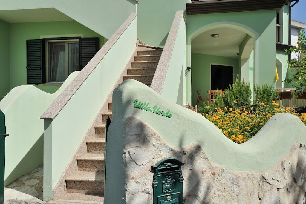 Esterno della casa