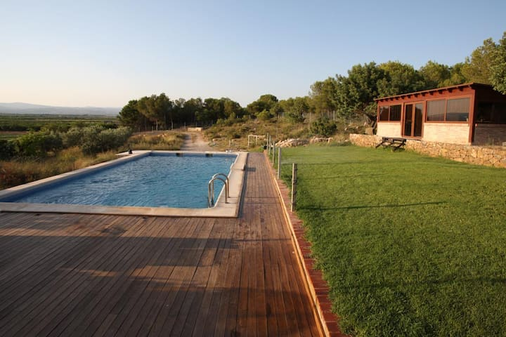 Designer villa with garden & pool - Lliria - Willa
