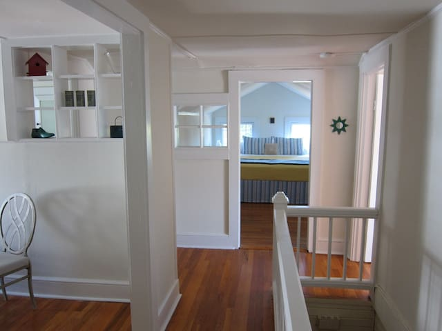 Hallway connecting all rooms