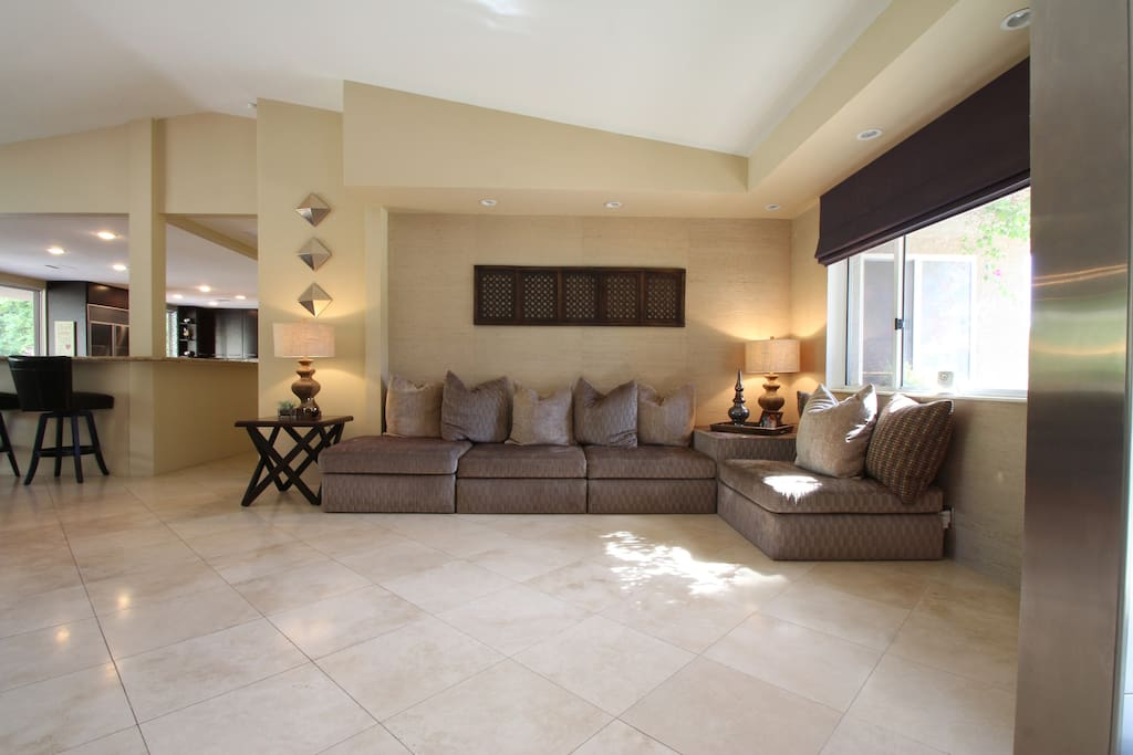 Front entry area - plenty of room for the family to spread out and relax.