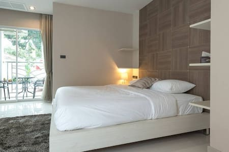 Parkview/Large room/Comfy/Modern 2 - Bangkok - Apartment