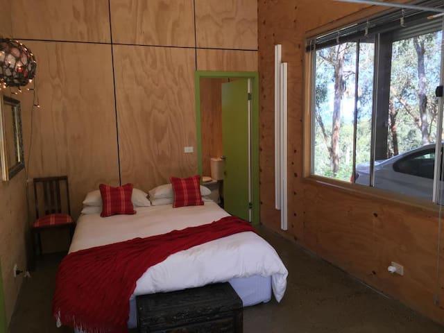 Main bedroom and through to en-suite